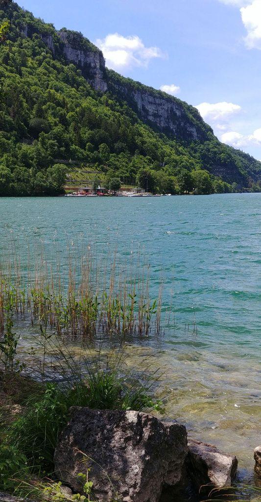 rive du lac de nantua