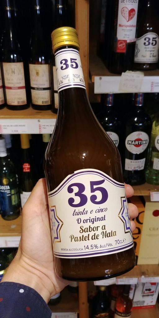 alcool liqueur de pasteis de nata