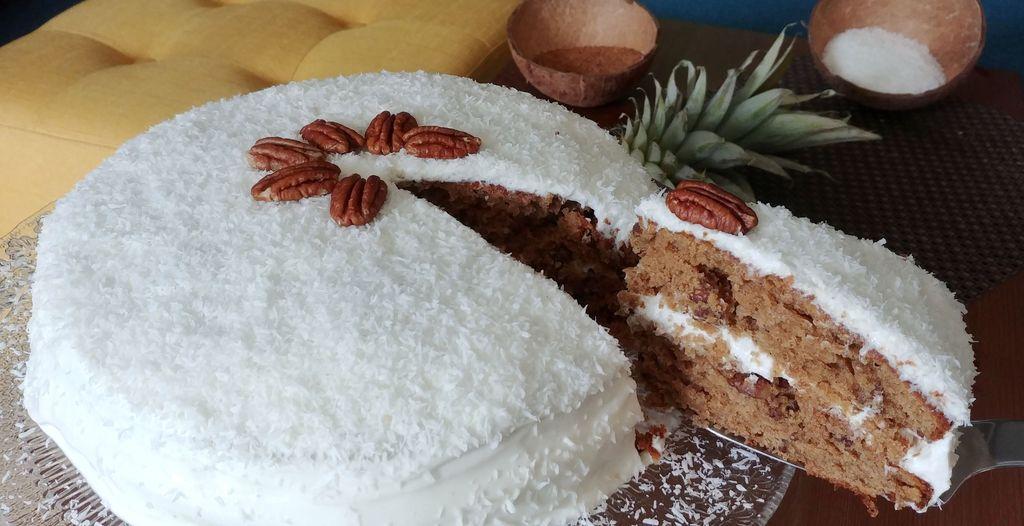 hummingbird cake exotique ananas et pecan