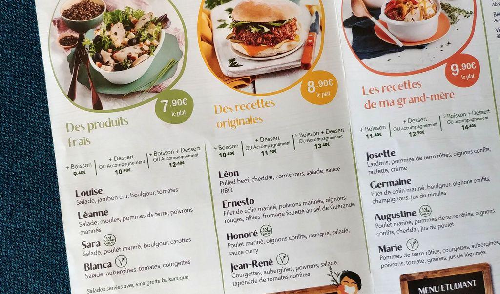 menu de mydy