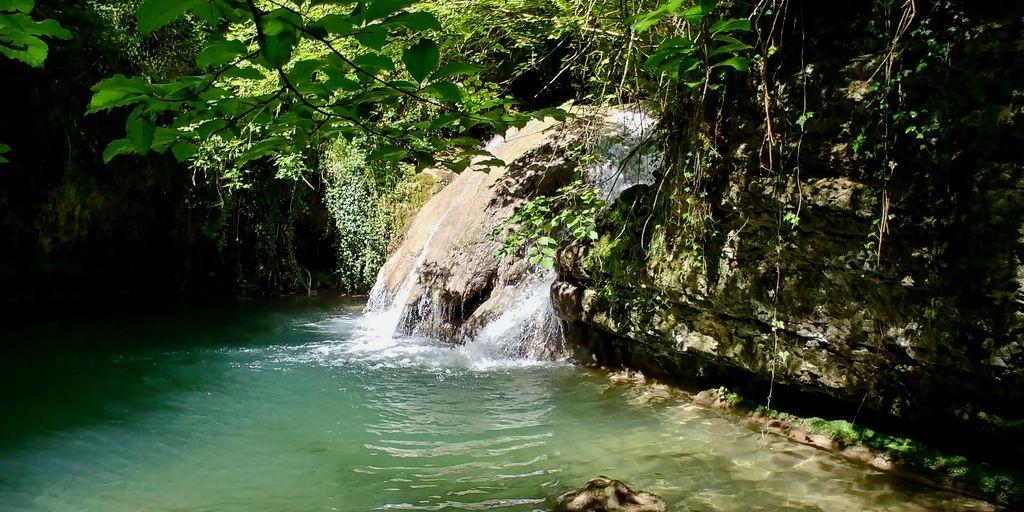 cascade façon cenote