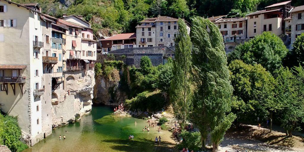 berges de pont en royans