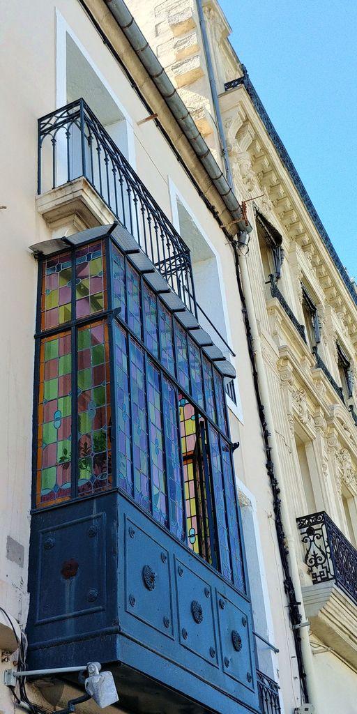 balcon vitrail a sete